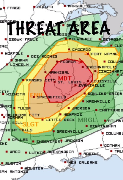 Tornado Threat Strong Tornadoes Possible